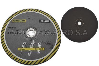 "Foto de Disco metal corte grueso 9"" 8 raptor 230x3x22.2mm"