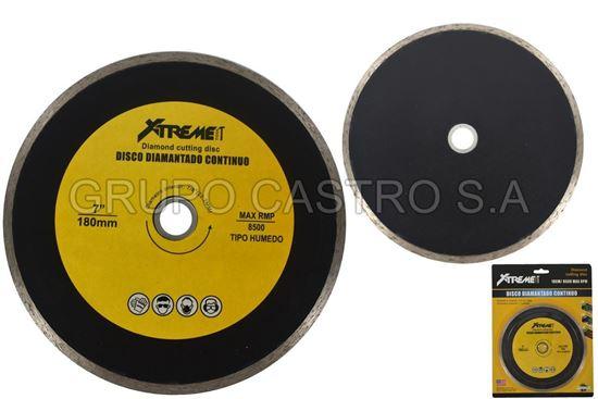 """Foto de Disco diamante 7"""" xtreme XT-F086 18 cms 8500rpm"""