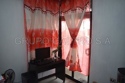 Foto de Cortina ventana scarlet clasics 2 pcs paños doble