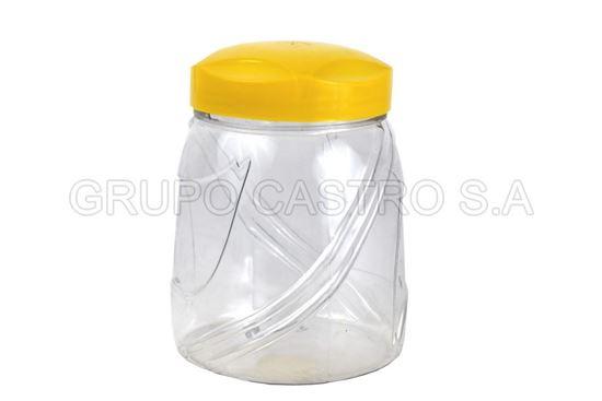 Foto de Recipiente plastico redondo c/t rosca grande