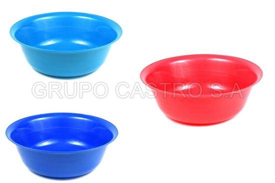 "Foto de Palangana n°2 taco colores 8""(1.12ltr) plástico"