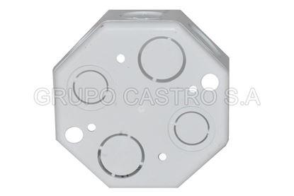 Foto de Caja Electrica Octagonal UB01P/COPLA PVC