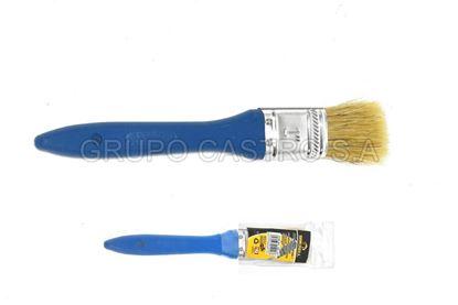 "Foto de Brocha pintar 1"" sb-127 brickell pelo amarillo"