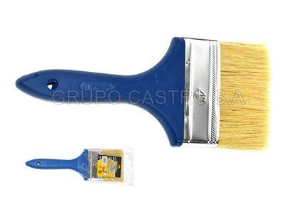 "Foto de Brocha pintar 4"" sb-130 brickell pelo amarillo"