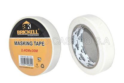 "Foto de Masking 1"" brickell  2.4cmx30m"