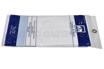 Foto de Cortina Baño plastico  casa bellaI 178X183cm color lizo
