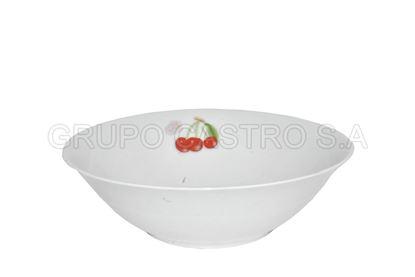 """Foto de Dulcera porcelana decorada 8"""""""