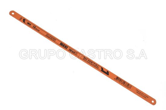 "Foto de HOJA SEGUETA 12"" 300MM(SET 10PCS) MAXI TOOLS PH-JTJ036 18TPI/8D"