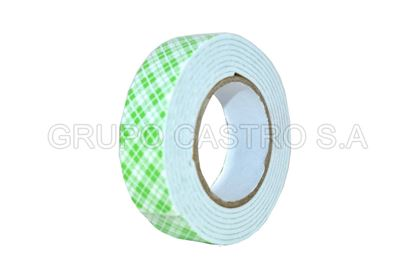Foto de CINTA DOBLE CONTACTO SET3 PCS  MOUNTING TAPE 900G/18MM