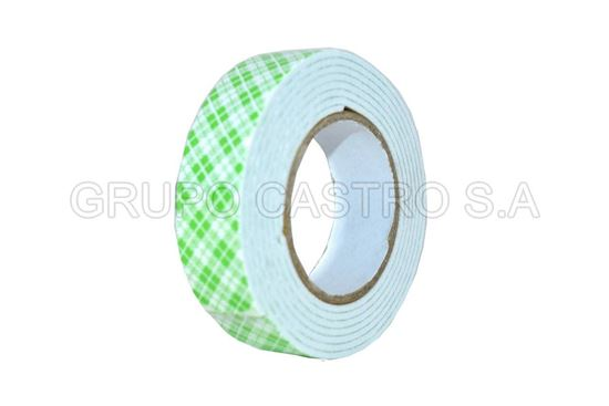 Foto de CINTA DOBLE CONTACTO SET3 PCS AE-0527 MOUNTING TAPE 900G/18MM