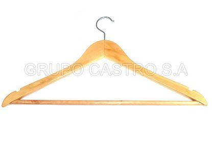 Foto de Gancho ropa madera