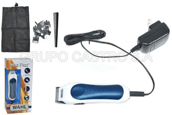 Foto de Cortadora cabello Wahl mini pro 9307-108 6 patillas+peine 984-WL9307108