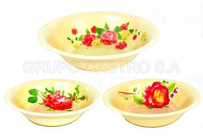 Foto de Dulcera bowl 16cms melamina  KM1545/9226