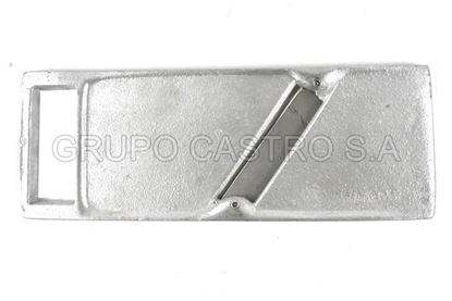 Foto de Rayador fundido 1 cara cuchilla acero