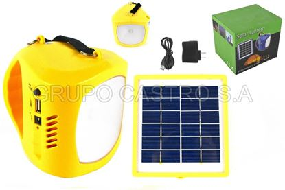 Foto de LAMPARA SOLAR FX02 1LED BIG BATTERY 3.7V RECARGABLE