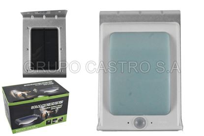 Foto de LAMPARA SOLAR FX66 FOX PARED BATTERY 3.7V 800A 16 LED