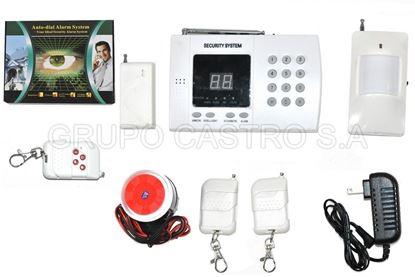 Foto de Kit alarma inalambrico antirobo residencial