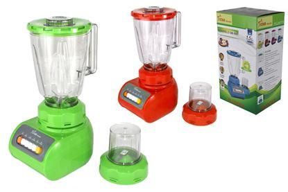 Foto de *SIN TAPA*Licuadora Blender 2 in1 Frasco Plástico 6 veloc 1.5 lts.SP-LD-999/SB-999/KM999P