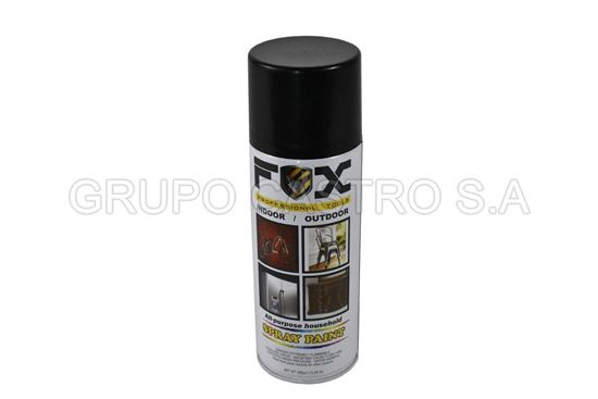 Foto de SPRAY FOX NEGRO MATE SP-012