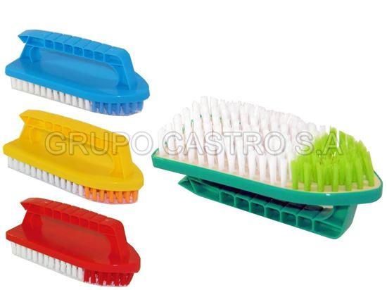 Foto de Cepillo para lavar c/mango  planchita