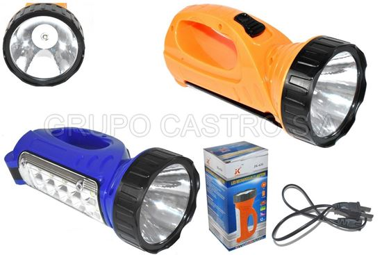 Foto de FOCO JIAKE RECARGABLE 1 LED LAMPARA LATERAL 10 LED