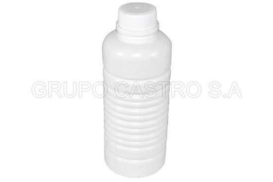Foto de ENVASE CILINDRICO ESTRIAS 800ML 06012 (90GRMS) TAPAY PLUG/SEG ALTA  TACOPLAST 12altx8an cms