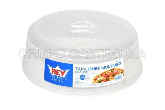 Foto de Tapa chef multiusos grande microondas