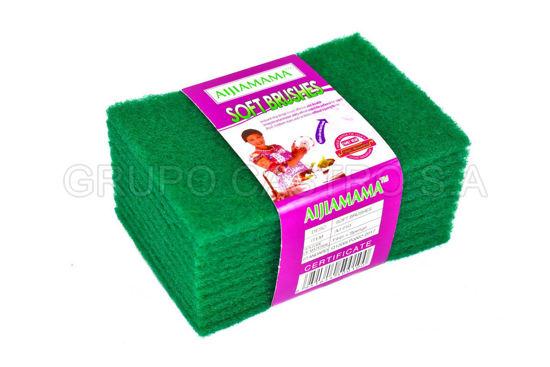 Foto de Set 10 esponjas verdes