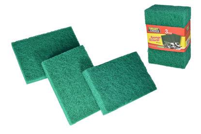 Foto de Set 3 esponja verde SC3-314 smart choice / sponge scourer