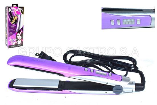 Foto de Alisadora para cabello Hotline HLST043/42/40 Nanotitanium keratina