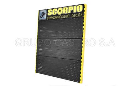 Foto de Exhibidor publicidad Scorpio/OKY 120 cm alto X 100 cm ancho