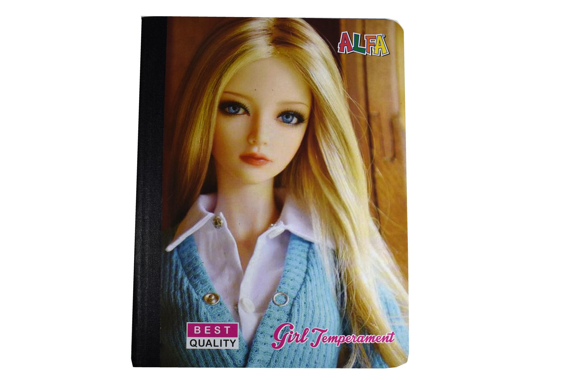 Foto de Cuaderno 100 Hojas(200paginas) 15,5x20cms CP-236AS niña