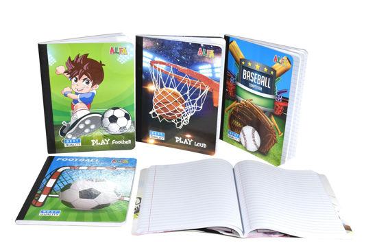 Foto de Cuaderno 100 Hojas(200paginas) 15,5x20cms CP-239AS niño