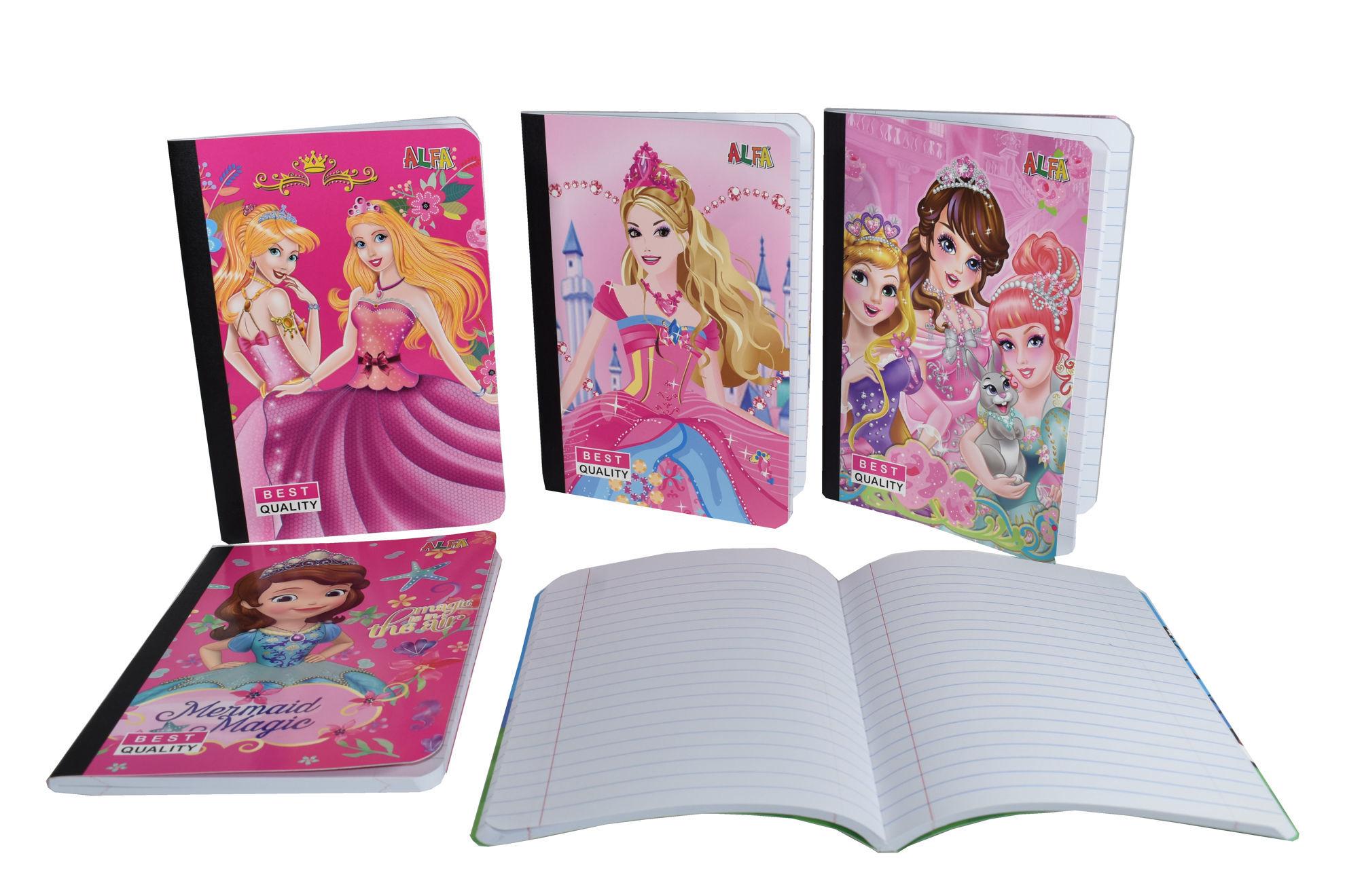 Foto de Cuaderno 80 Hojas(160paginas) 15,5x20cms CC-164AS niña