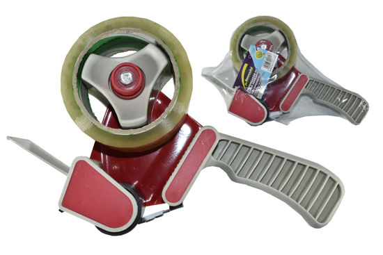 Foto de Dispensador cinta adhesiva 38micx48mmx66mts Benssini BS-1392