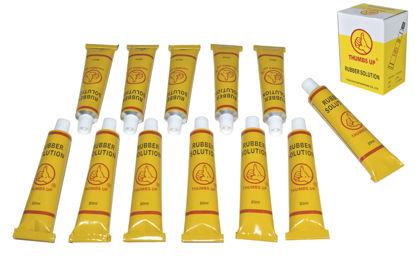 Foto de Set 12 tubos pegamento goma YP-3203A 20ML