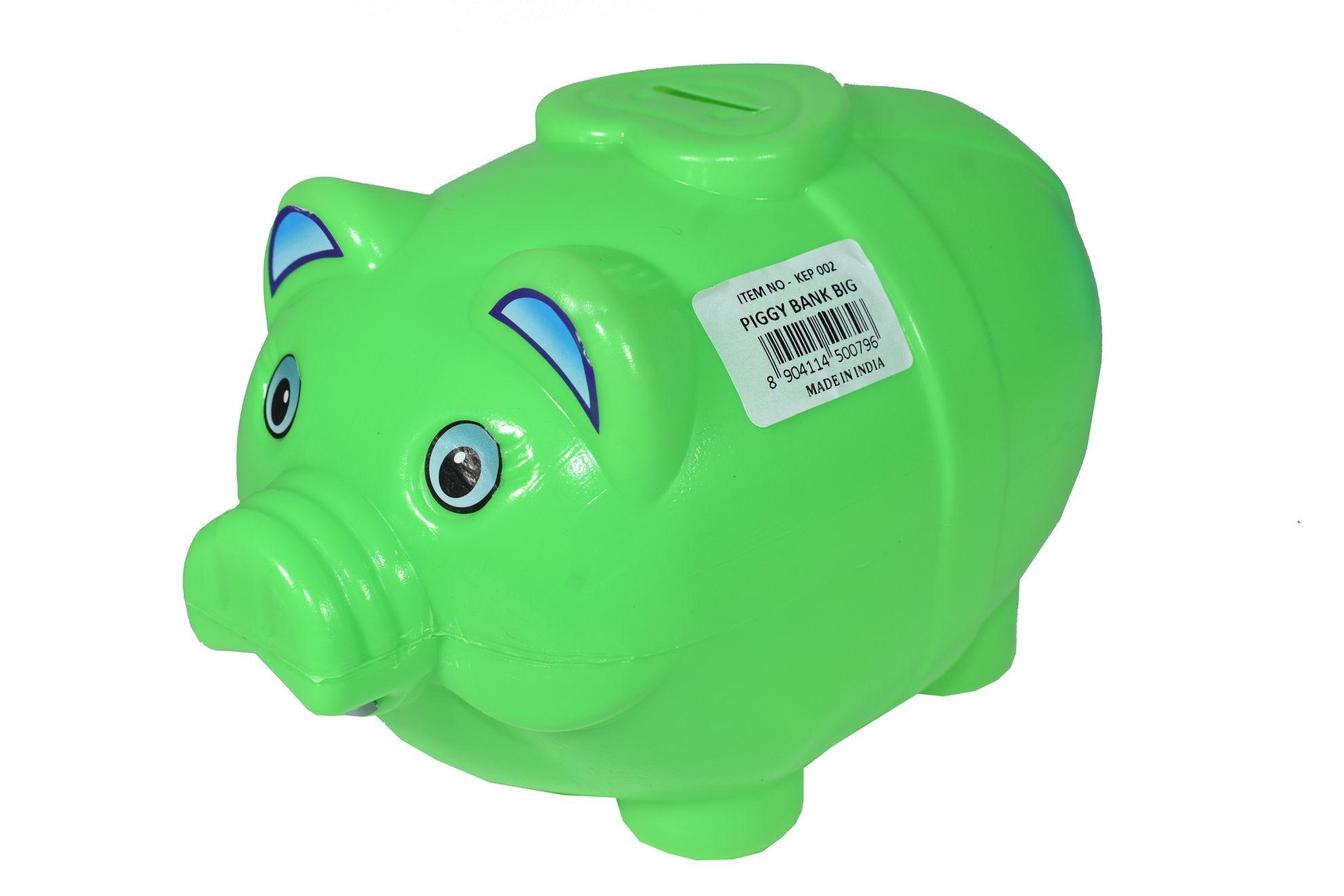 Foto de Alcancia chancho mediana KEP002 14x20cms corazon piggy bank small