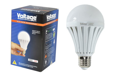 Foto de BOMBILLO LED 9W STB-9 RECARGABLE EMERGENCY LIGHT VOLTAGE