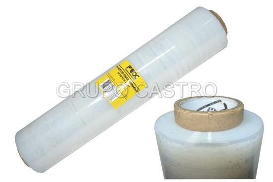 "Foto de Plastico adhesivo P/envolver 18""SW10902 450X32 mm fox"