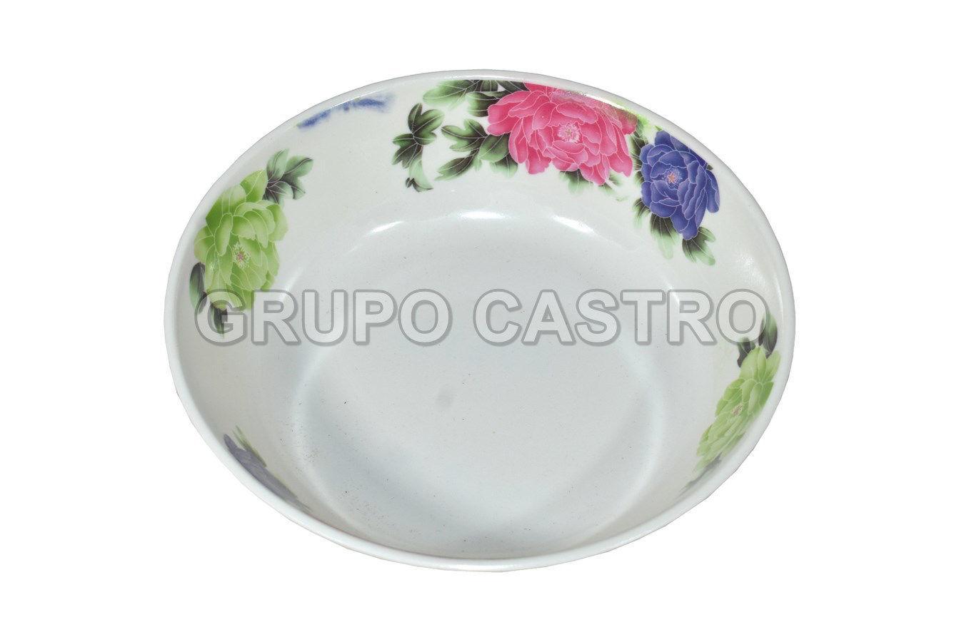 """Foto de Plato sopero melamina decorado 7"""" MU2012/3007S"""