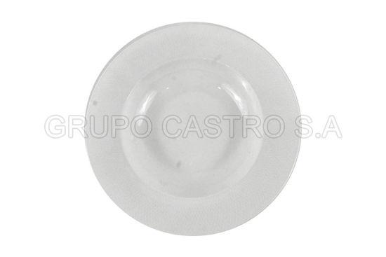 "Foto de Plato porcelana hondo 9"" Blanco 9MS-1"