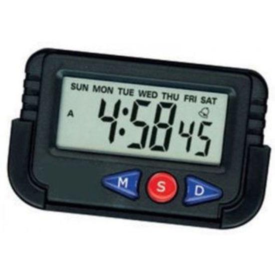 Foto de Reloj digital rectangular NA-613C/PH613C carro 7x4cms